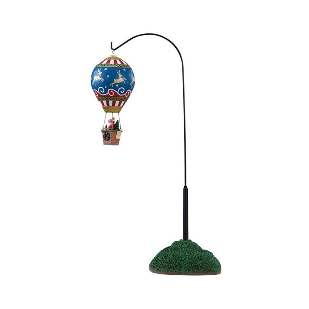 Lemax Reindeer Hot Air Balloon