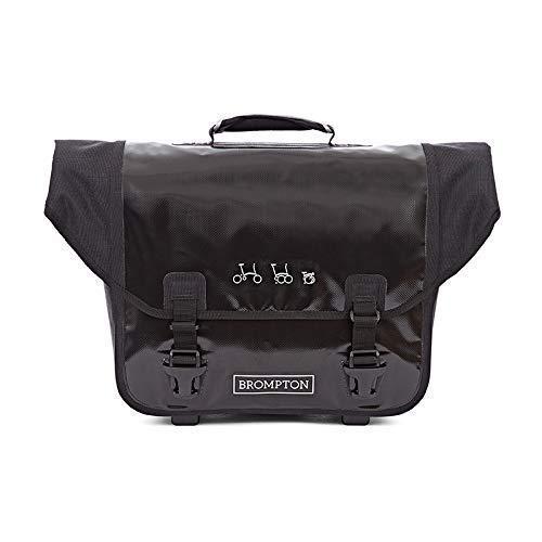 Black Brompton Ortlieb O-bag