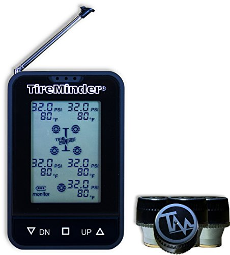 TireMinder TM55-B Wireless Tire Pressure Monitoring System with 4 Transmitters