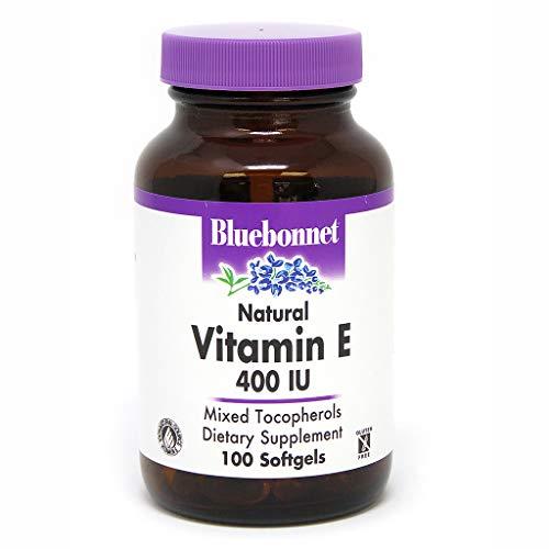 BlueBonnet Vitamin E 400 IU Mixed Softgels, 100 Count