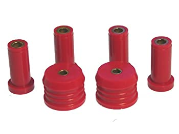 Prothane 3-202 Red Rear Control Arm and Differential Mount Bushing Kit
