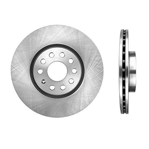 FRONT Premium Grade OE 312 mm [2] Rotors CBO200027 [ for Audi TT Quattro A3 Volkswagen CC EOS GTI Jetta Passat Tiguan ]