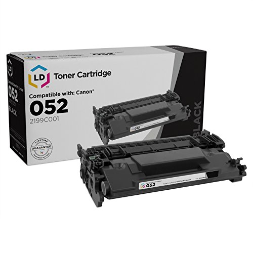 LD Compatible Replacement for Canon 052 Standard Yield Black Laser Toner Cartridge for ImageCLASS LBP214dw, LBP215dw, MF424dw, MF426dw & MF429dw by LD Products