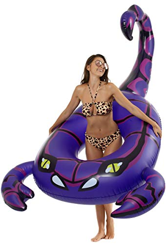 Luxy Float Giant Inflatable Scorpion Pool Floats