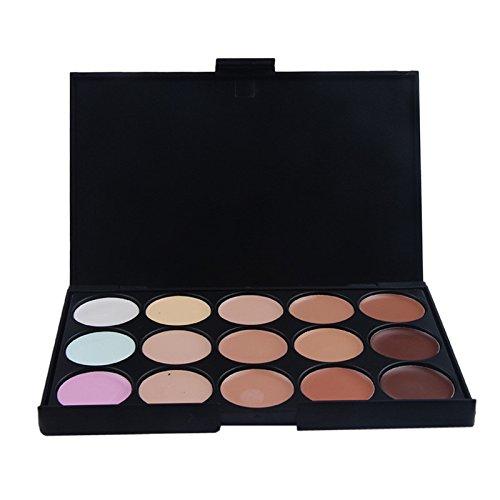 Eyeshadow,Baomabao 15 Color Eyeshadow Neutral Warm Palette Makeup Cosmetics (Skull Makeup Kit)
