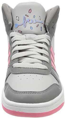 Grau Gritre Unisex Fitnessschuhe Rostiz Hoops Mid 000 0 2 adidas Gridos Kinder 4HSqUwT4A