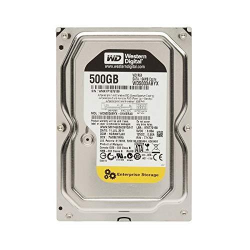 (Western Digital 500GB RE4 Enterprise Desktop 3.5in SATA 7200rpm Hard Drive - OEM (Renewed))