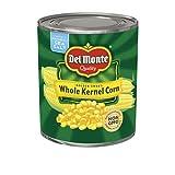 Del Monte Golden Sweet Whole Kernel Corn Non-GMO/No Preservatives - 6.6 lbs Can (106 oz.)