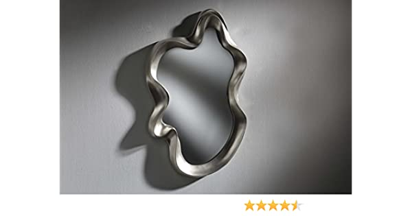 DISARTE - Espejos Modernos - Espejo DALÍ I Plata (104x65): Amazon.es: Hogar