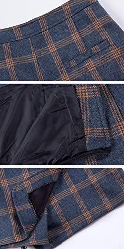 Grande DISSA FS1887 Short Mini Ajoure Bleu Taille Jupe Club rXTwCxdqX