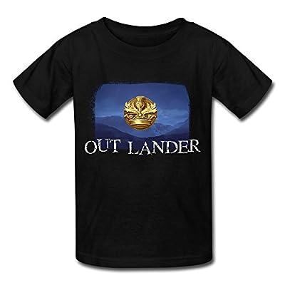 ZHENGMAO Kid's Outlander Sign T-shirt