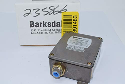 Barksdale B1T-M48SS Mechanical Pressure Switches, B1T Series 240-4800 PSI