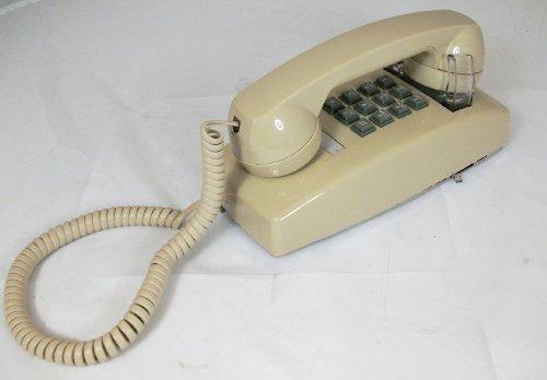 255444-VBA-20M Wall w/ Volume ASH-Cortelco-Corded Telephones-Basic Telephones