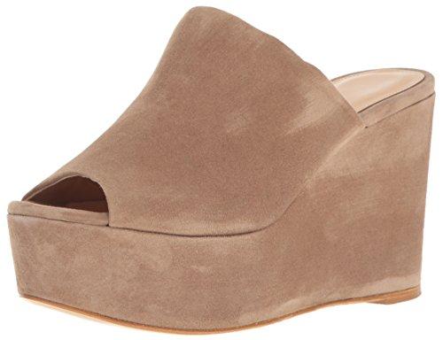 CHARLES DAVID Women's Padma Platform Sandal, Truffle, 7 M US