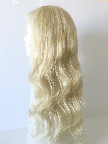 Blonde Natural human hair 24'' by pircosmetics