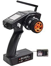 Radiolink RC4GS V2 2.4G 4 Channels RC Radio Controller and R6FG Gyro Receiver Long Range Transmitter for Crawler Truck Car Boat