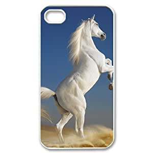 Hard Shell Case Of Horse Customized Bumper Plastic case For Iphone 4/4s