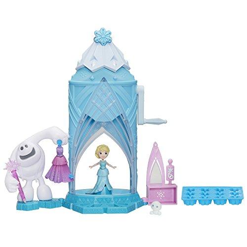 [Disney Frozen Little Kingdom Elsa's Magical Snow Maker] (Elsa Costume Change)