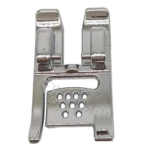 Pfaff Cord - HONEYSEW Multi-Cord Foot Snap On for Pfaff 7/9 Hole Cord Foot 93-036946-91# 820608096