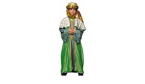 Boys Toys - Disfraz rey mago baltasar talla 5-6 años: Amazon ...