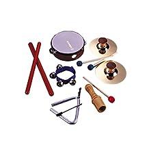 Hohner Kids 6 Piece Rhythm Instrument Set