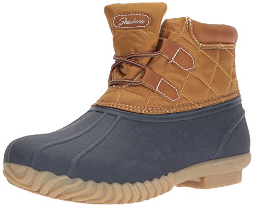 Skechers Damen Hampshire Winterstiefel Marine Tan