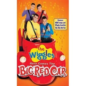 Amazon wiggles here comes the big red car vhs movies tv wiggles here comes the big red car vhs sciox Gallery
