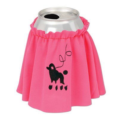 Drink Poodle Skirt Party Accessory (1 count) (1/Pkg) -