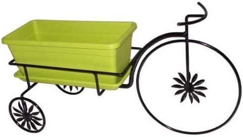 Maceta de jardín con caja bicicleta: Amazon.es: Hogar