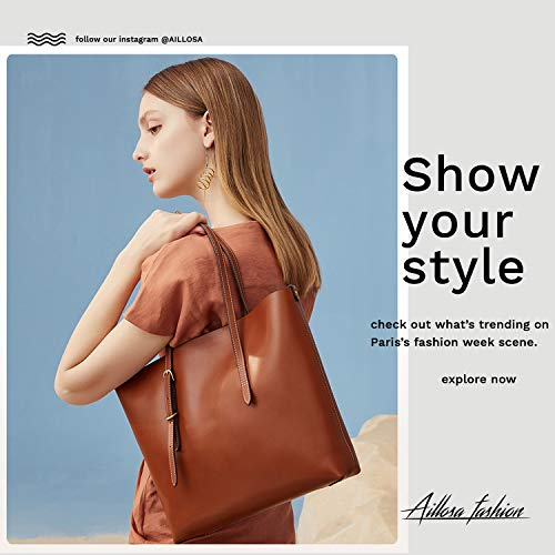 AILLOSA Purses and Handbags for Women Satchel Shoulder Tote Bags by AILLOSA (Image #4)