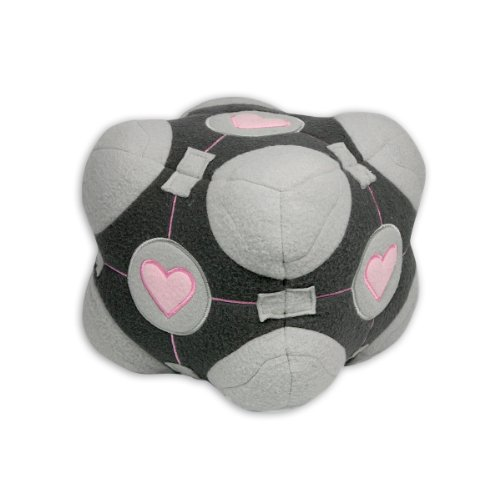 portal plush figure companion Cube -