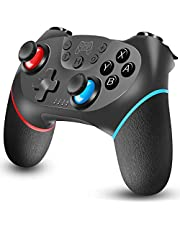 GAMFAMI Wireless Pro Controller Gamepad Joypad Remote Joystick for Switch Console/ Switch Lite, Switch Remote Controller Gamepad Joystick, Supports Gyro Axis, Turbo and Dual Vibration
