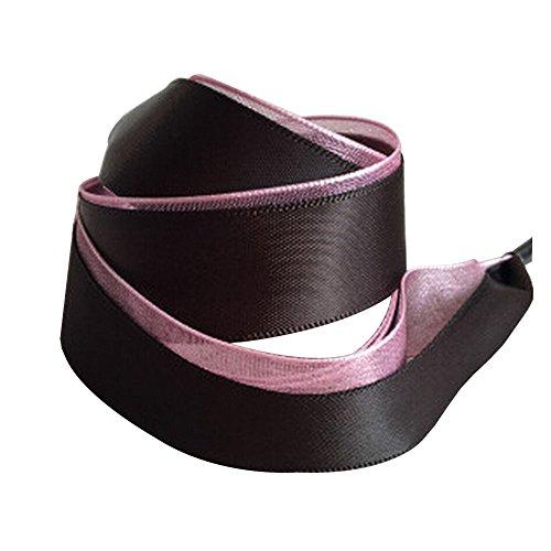 Set de 2 cordones de terciopelo cordones cordones de zapatos de moda 120 cm [Negro] multicolor 16