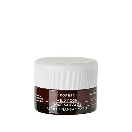 KORRES Wild Rose Hydrating and Brightening Moisturiser for Normal/Dry Skin SPF6 40 ml KFC-HYD-F-0100227