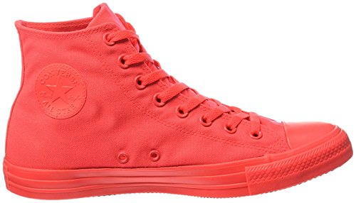 Hi Sneaker All Converse Alte Adulto Neon Rosso Star Unisex qnp11AS