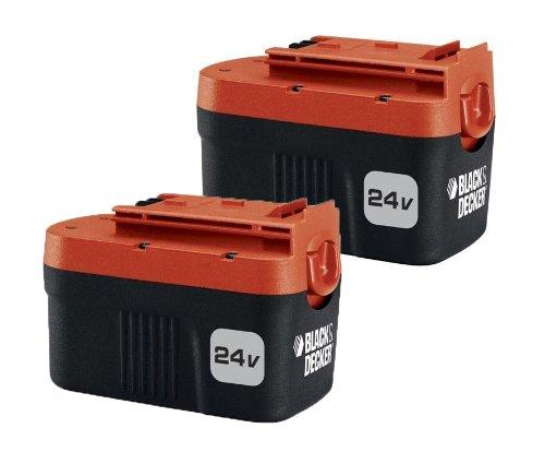 black decker 24 volt battery 2 pack hpnb24 2 home garden. Black Bedroom Furniture Sets. Home Design Ideas