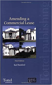 Amending a Commercial Lease