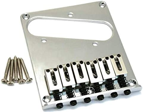 Squier by Fender Telecaster Electric Guitar Bridge - Chrome