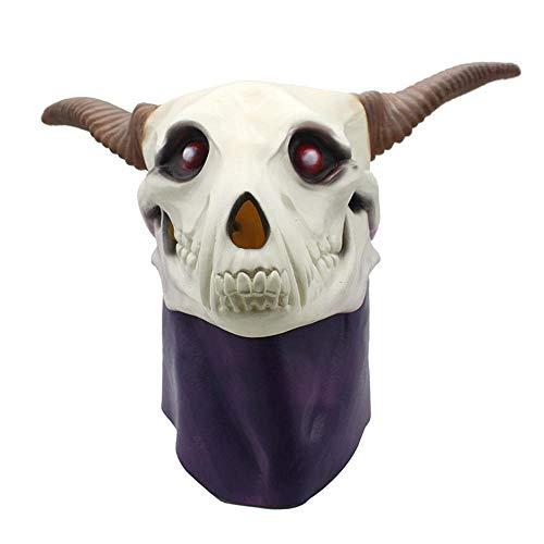 (Rwdacfs Halloween mask,Magic Mask Wig Halloween Anime Dress)