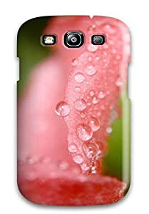 Everett L. Carrasquillo's Shop 6783252K81497296 New Arrival Case Cover With Design For Galaxy S3- Drops On Flower Wide