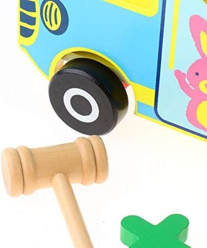 マッチングゲーム バス型 数字 ブロック 数字認知 形合わせ 算数 教育玩具