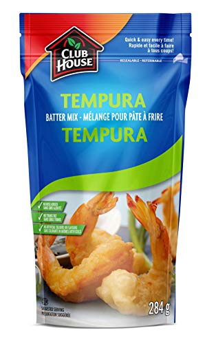 Club House, Quality Quick and Easy Batter Mix, Japanese Tempura, 284g