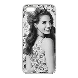 Customiz American Famous Singer Lana Del Rey Back Case for iphone 5 5S JN5S-2472