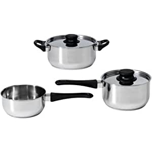 Ikea annons 5 piece cookware set stainless for Naaptol kitchen set 70 pieces