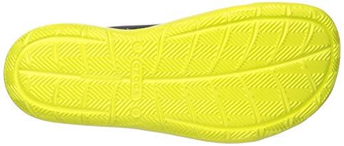 Crocs Men's Swiftwater Wave M Water Shoe Navy/Citrus 4 M US by Crocs (Image #3)