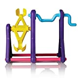 Interactive Baby Finger Monkey Climbing Seesaw Fingerling Playset Frame - for Fun and Table Decoration