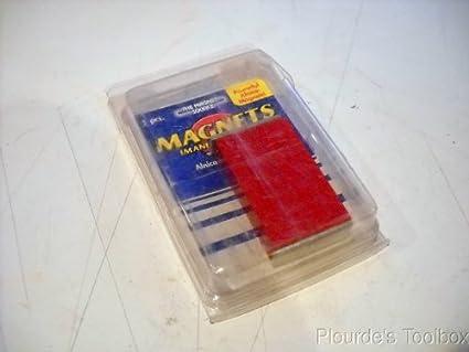 New (2 Pack) Grainger Master Magnetics 5 Bar Alnico Magnets, 0.3 lb Pull