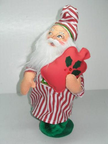 "Annalee 13"" Mr Tuckered Santa Clause Christmas Holiday Figurine Doll -2006-"