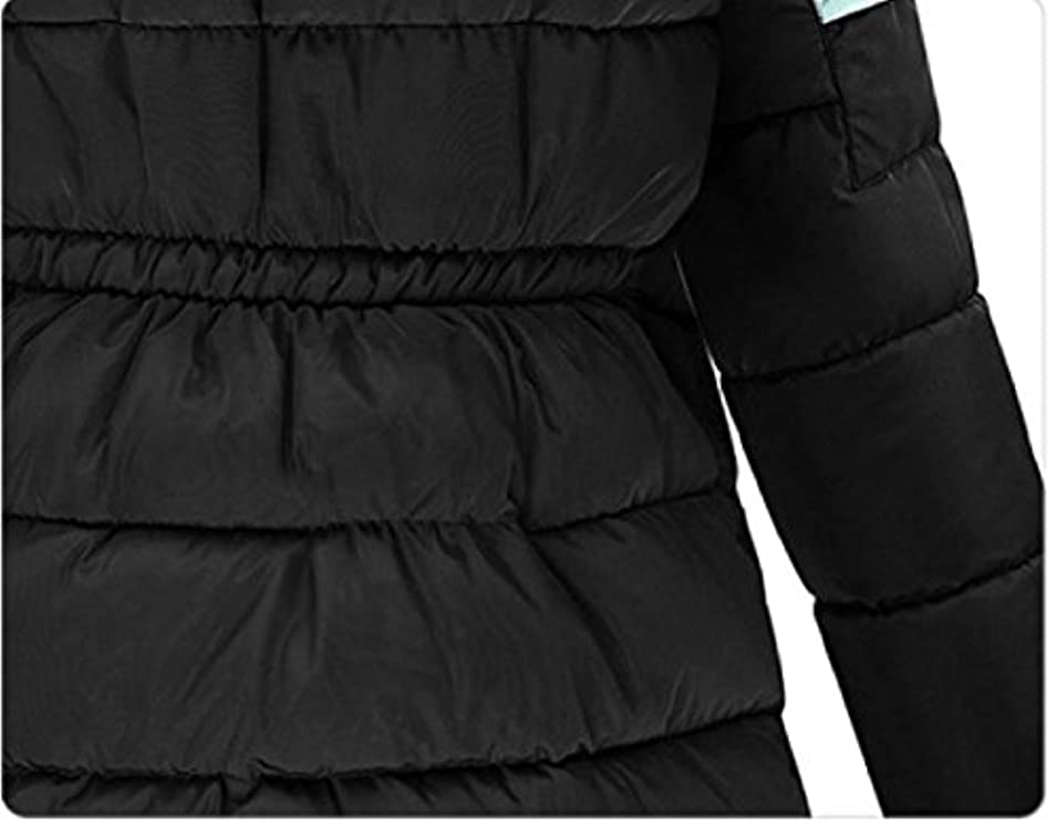 Eco long In Con Thick Parka pelliccia size Mid Jacket Cappuccio Women Plus Sexybaby Aqfw604A