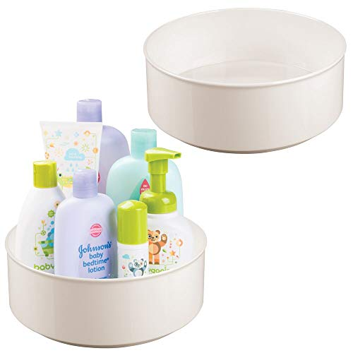 ning Lazy Susan Turntable Storage Organizer for Kids, Baby/Toddler - Place in Kitchen Cabinet, Pantry, Refrigerator, Countertop - 9